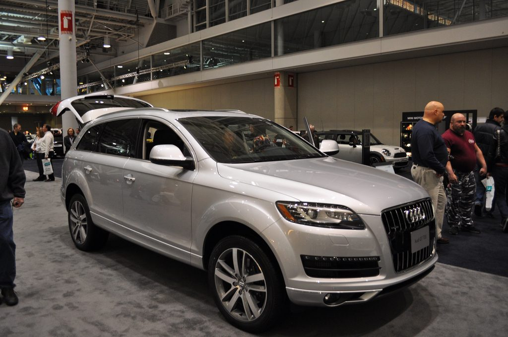 Ny teknologi med brugt Audi Q7