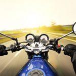 Skift bilen ud med en motorcykel